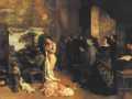 Гюстав Курбе. Мастерская художника. 1855. Х., м.