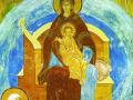 «О Тебе радуется». Фрагмент фрески. 1502