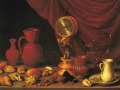А. Переда «Натюрморт с часами» 1652, х.м