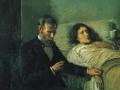 Пабло Пикассо «Наука и милосердие (фрагмент) 1897 х.м