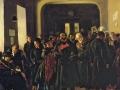 В. Маковский «Крах банка» 1881, х.м.