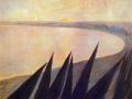 Печаль. 1906/1907 г. Картон, пастель