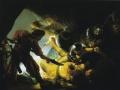 Рембрандт, «Ослепление Самсона», х.м.