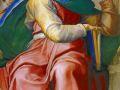 Микеланджело Буонарроти. Пророк Исайя. 1512. Фреска