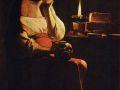 Жорж де Ла Тур. Скорбящая Магдалина