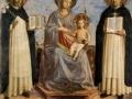 Фра Анджелико. Мадонна с младенцем. 1430. Фреска