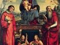 Франческо Франча. Мадонна с младенцем. 1500. Х., м.