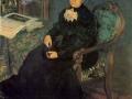 Портрет Е.П. Кустодиевой, матери художника. 1926. Х., м.