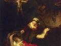 Рембрандт ван Рейн. Святое семейство. 1645. Х., м.