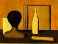 Джорджо Моранди. Натюрморт с бутылкой. Х., м.