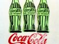 Энди Уорхол. Три бутылки Кока-Колы. 1962. Шелкография