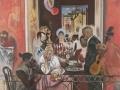 Евсей Моисеенко. 9 Мая. 1973-1975. Холст, масло. 220 x 165 см. Государственная Третьяковская галерея