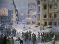 Василий Ефанов. Сталинград. 1943. Холст, масло. 308,5 х 321,5 см. Государственный Русский музей
