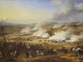 Alexander Dmitriev-Mamonov. Battle by Fer Champenoise. Not later than 1836. Oil on canvas. 64 x 96 cm. The State Hermitage