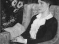 «Портрет Е. Глебовой», 1915 г., х.м.