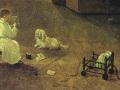 В. Скородумов. «Квартира учеников Академии художеств» (фрагмент). Х.м.
