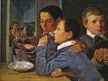 А. Иванов. «Дети, пускающие мыльные пузыри». 1939. Х.м.