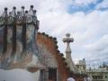 Каса Батло (фрагмент крыши)