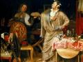 Павел Федотов. Свежий кавалер. 1848. Х., м.