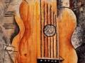 Пабло Пикассо. Гитара (я люблю Еву). 1912. Х., м.