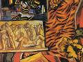 «Натюрморт с тигровой шкурой.» 1908г.х.м.