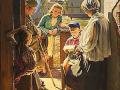 А. Лактионов. Письмо с фронта. 1947. Х.М. ГТГ