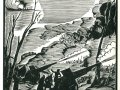 А.И.Кравченко. Красная Армия на позициях Артиллерия. 1933. гравюра