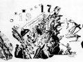 Василий Фаворский. Годы революции. Октябрь. Ксилография. 1928