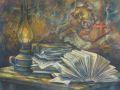 Виктор Шумский. Фолианты и фрески. 2010. Картон, пастель.