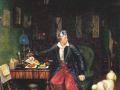 Павел Федотов. Завтрак аристократа. 1842. Х., м.