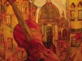 Скрипка (батик)