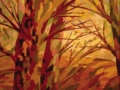 Осень (гуашь)