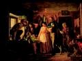 Петров, «Сватовство чиновника к дочери портного», 1890, х.м