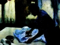 Эдгар Дега, «Гладильщица»
