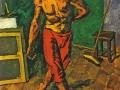 «Полотер». 1946. Х.м.