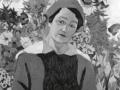 «Портрет Марии Петровны Лентуловой в синем платье». 1913. х.м.