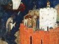 Клеймо иконы Святой Николай Зарайский, с житием. XVI век