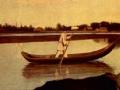 Григорий Сорока. Рыбаки (фрагмент). 1840