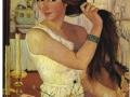 З. Серебрякова, «За туалетом», х.м., 1909 г.