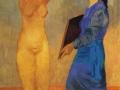 П. Пикассо, «За туалетом», х.м., 1906 г.