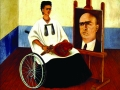 Автопортрет с портретом доктора Фарилла. 1951 г.