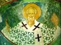 Святитель Николай Чудотворец (Мирликийский) Фрагмент фрески. 1502