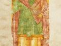 Архангел Гавриил. Фрагмент фрески. 1502