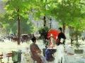 Парижское кафе. 1890. Х., м.