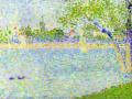 Сена в Гранд-Жатт, весна. 1888. Х., м.