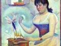 Пудрящаяся женщина. 1890. Х., м.