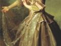 Дмитрий Левицкий. Портрет Е.И. Нелидовой. 1773. Х., м.
