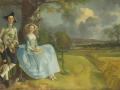 Томас Гейнсборо. Сэр Эндрю с женой. 1750. Х., м