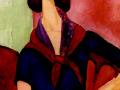 «Жанна Эбютерн», 1919, х.м.