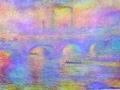 «Мост Ватерлоо (эффект тумана)»,1903г., х.м.